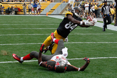 Antonio Brown is entitled to a drop every now and then