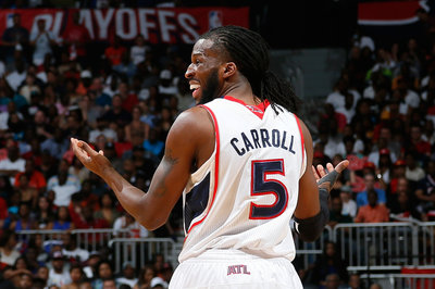 DeMarre Carroll injury: Hawks forward a late scratch due to ankle injury