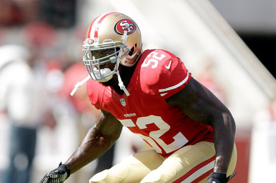 Mike Iupati, Patrick Willis out for 49ers-Broncos