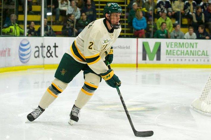 Hockey East: Blackhawks Prospect Paliotta Off To Hot Start For UVM