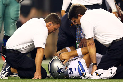 Cowboys Wednesday Injury Report: Tony Romo, Rolando McClain, Ron Leary All Miss Practice