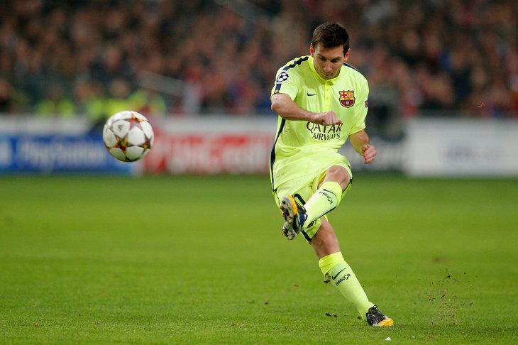 71 Gol Liga Champions Lionel Messi - Berita