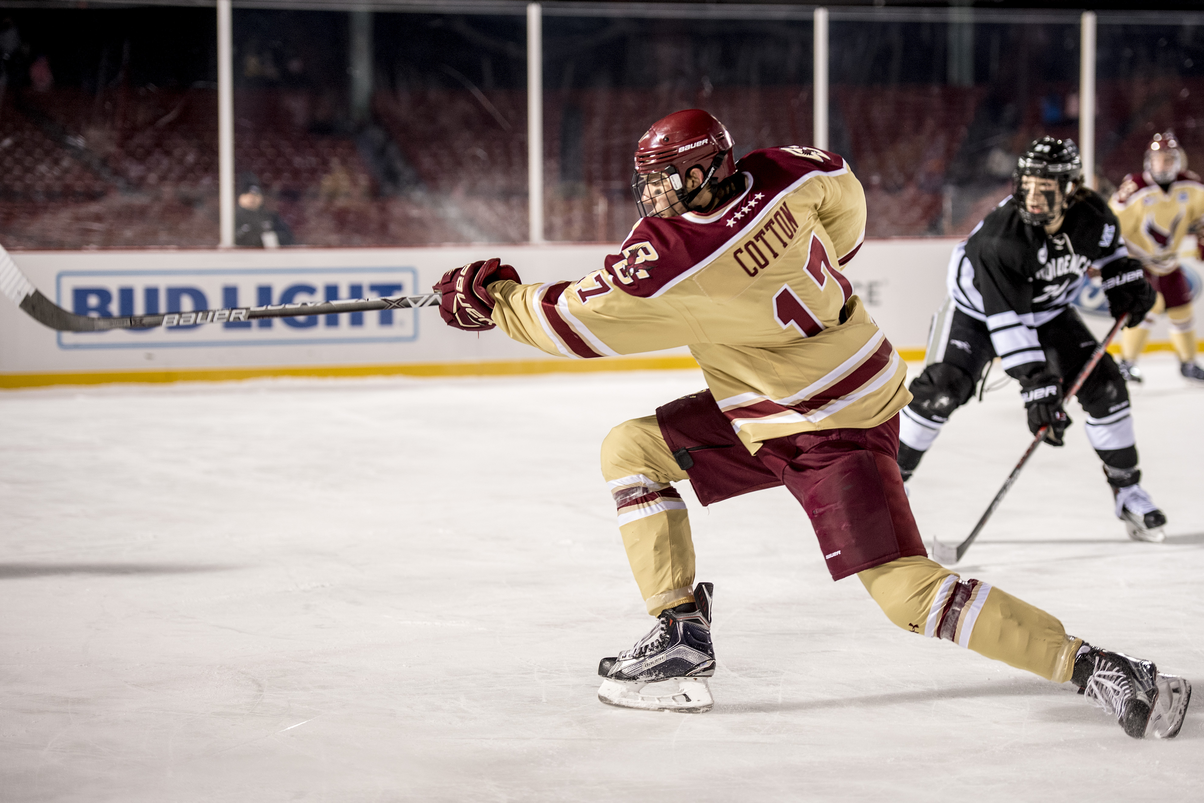 Hockey East: Frozen Fenway - Cotton Comes Up Clutch In BC's Big Win Over Providence