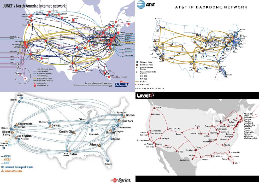 Real Time Internet Traffic Map.40 Maps That Explain The Internet