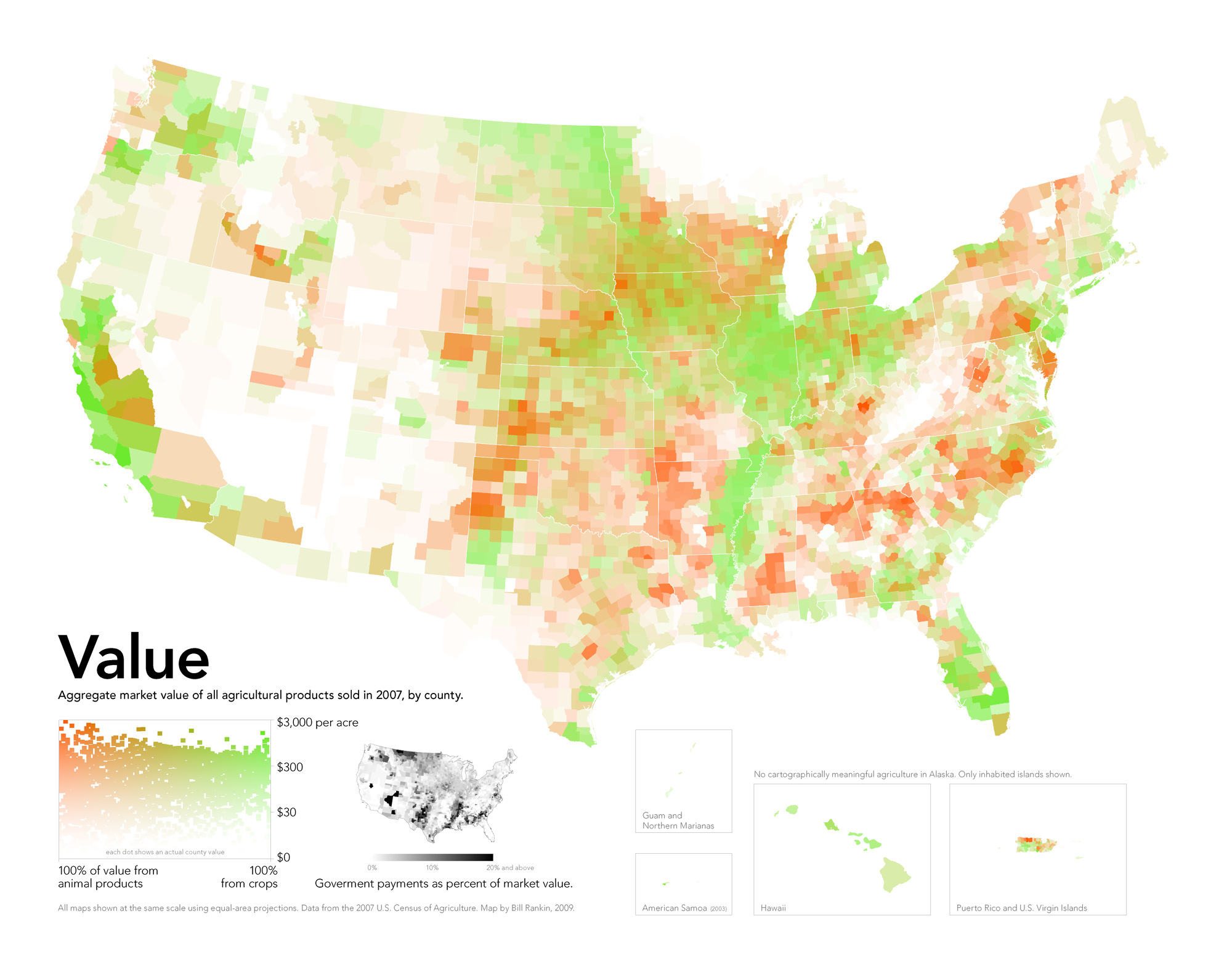 Maps That Explain Food In America Voxcom - Map of us livestock population