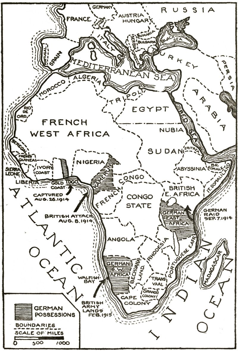 40 maps that explain world war i vox european powers carve up africa gumiabroncs Image collections