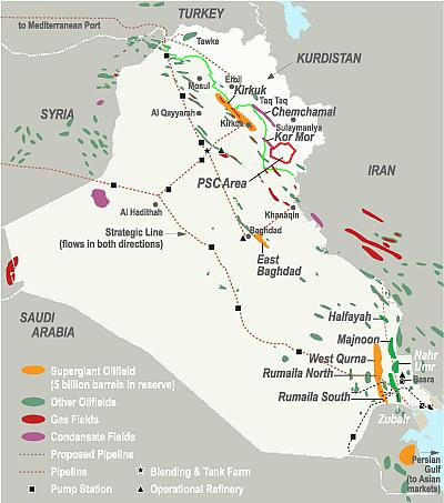 iraqs enormous oil reserves
