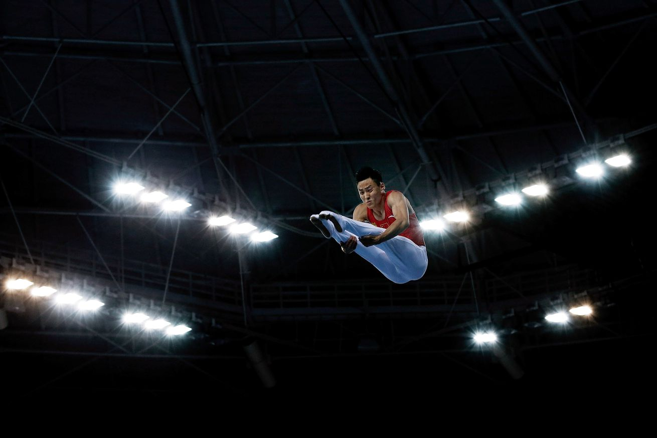 Hancharou, trampoline champion, gives Belarus its first gold in Rio