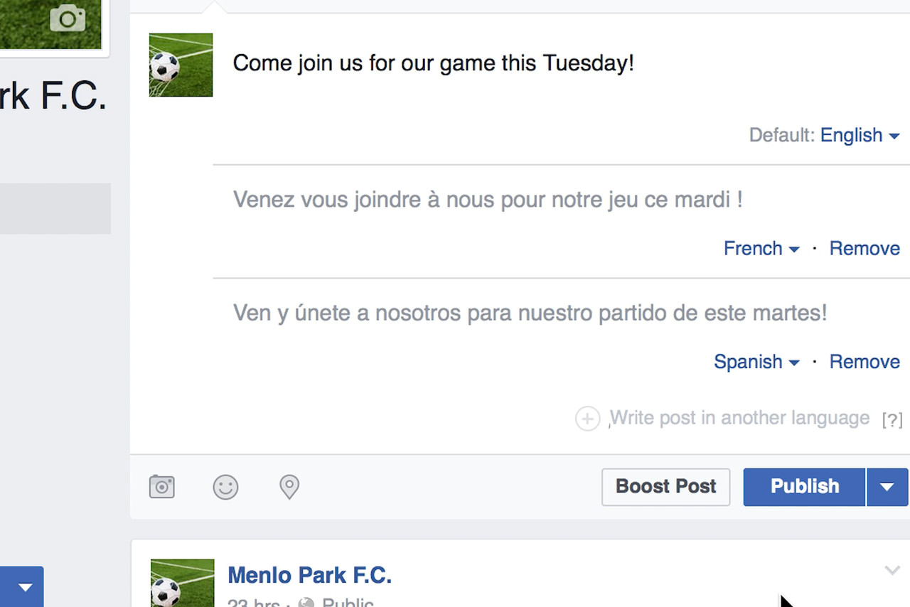 Facebook now lets everyone translate posts to any language they want