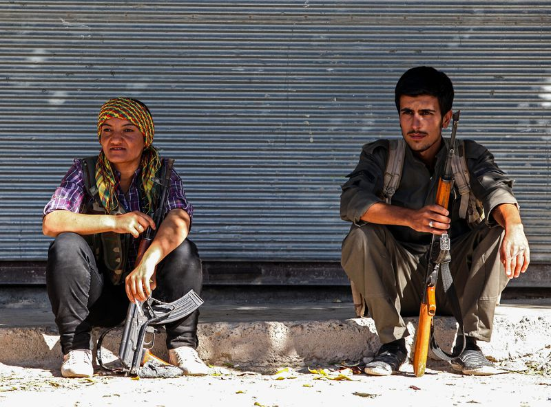 kurdish fighters kobane