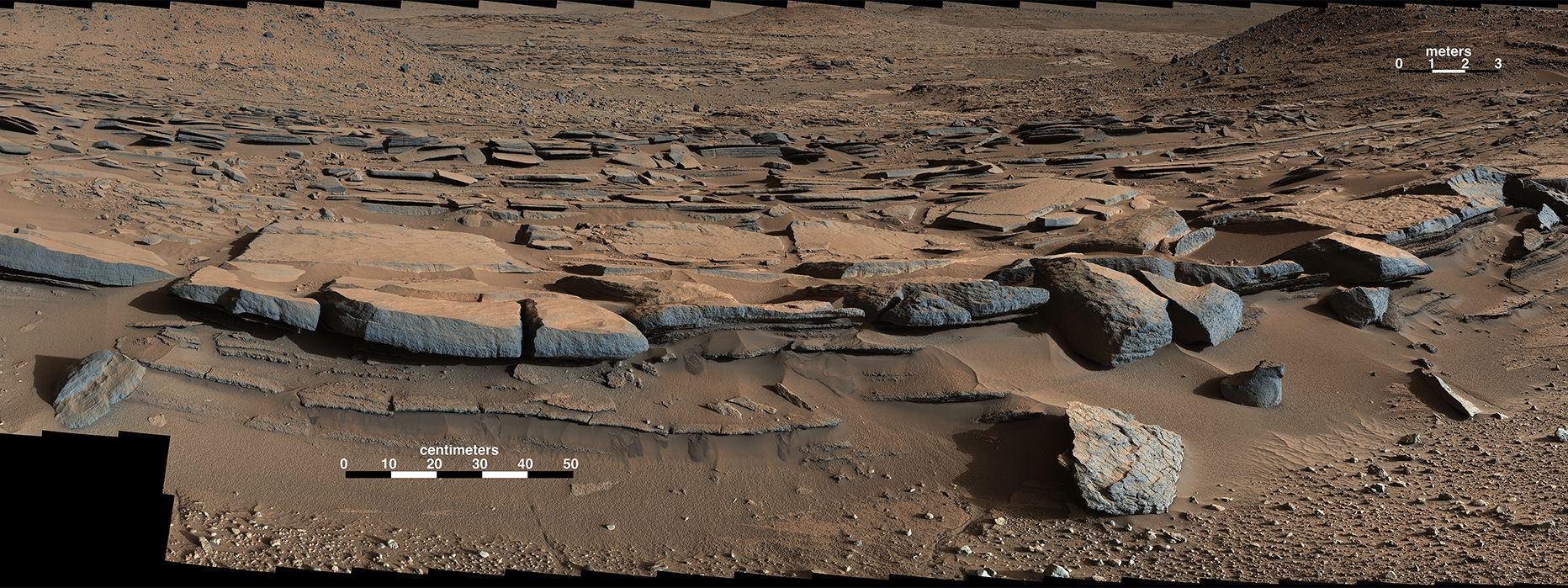 path curiosity rover gale crater - photo #35
