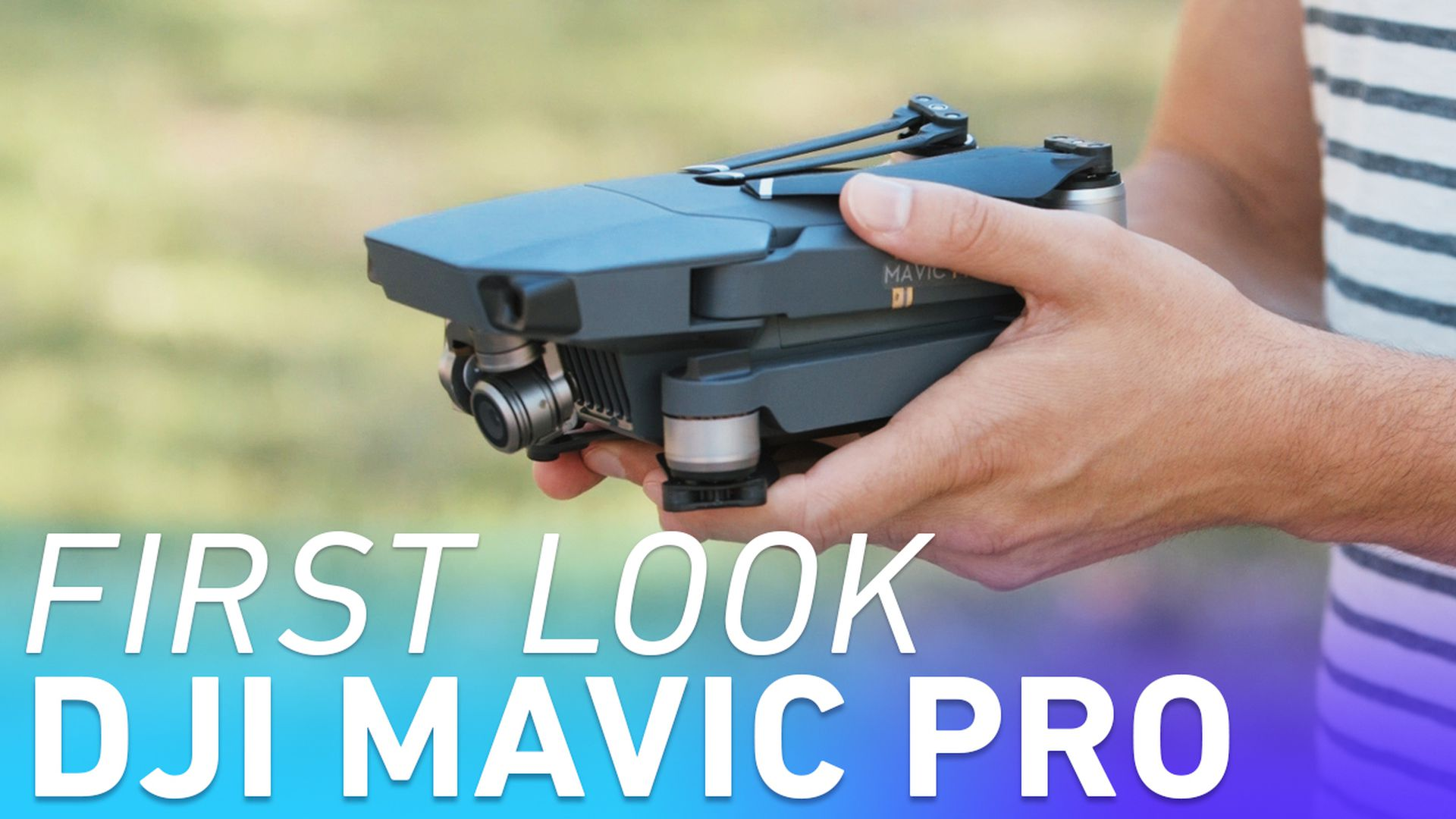 4e35726aaa4 DJI's new Mavic Pro drone folds up and fits in the palm of your hand - The  Verge