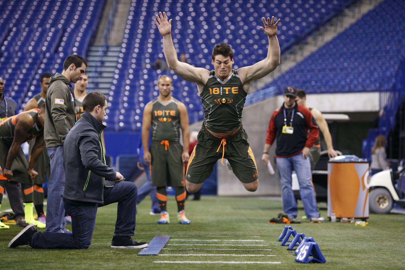 NFL Combine drills explained: Broad jump - SBNation.com