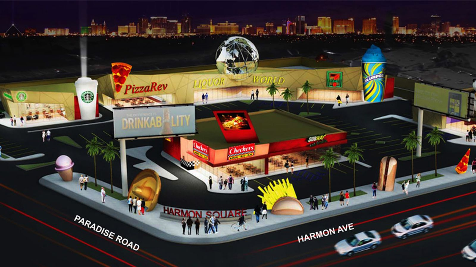 Closest Fast Food Restaurant To Current Location