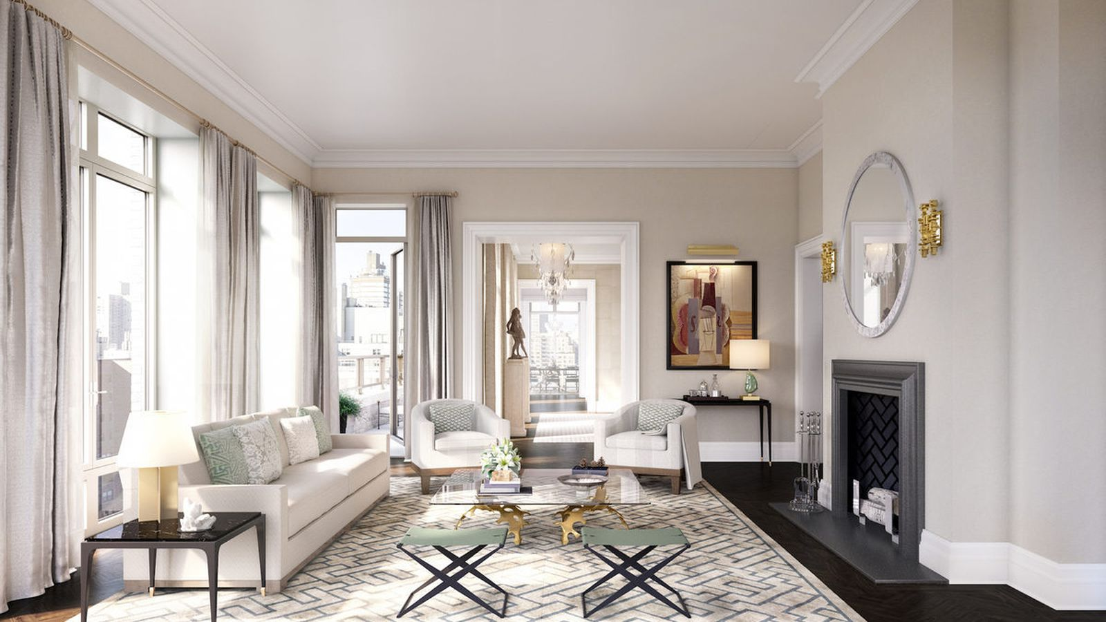 Robert A M Stern S Cushy 20 East End Ave Penthouses Debut