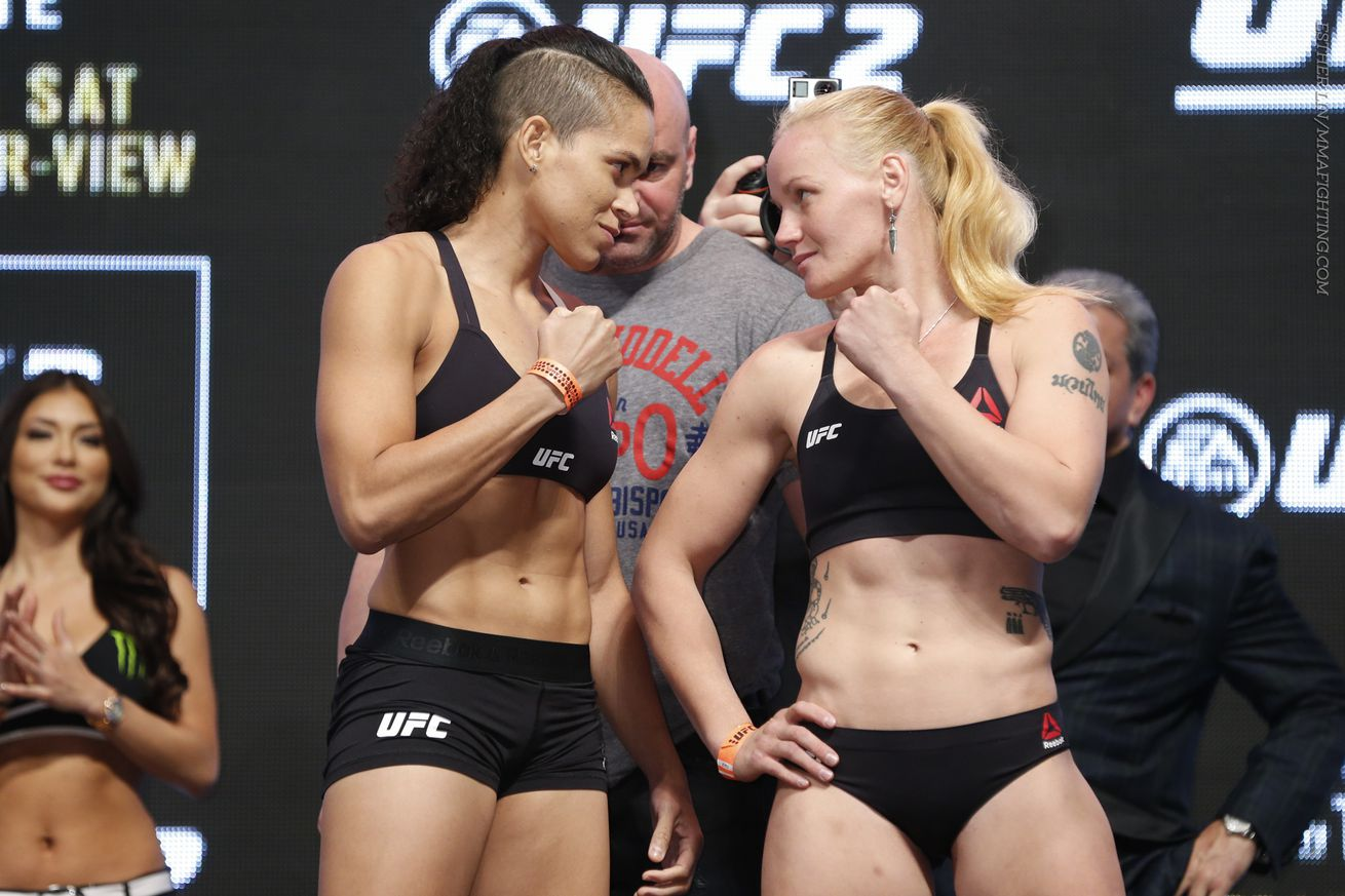 community news, UFC 196 notebook: Valentina Shevchenko says she's here 'not to have fun,' but to win