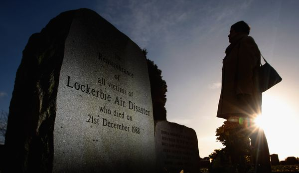 The Lockerbie Memorial in Scotland