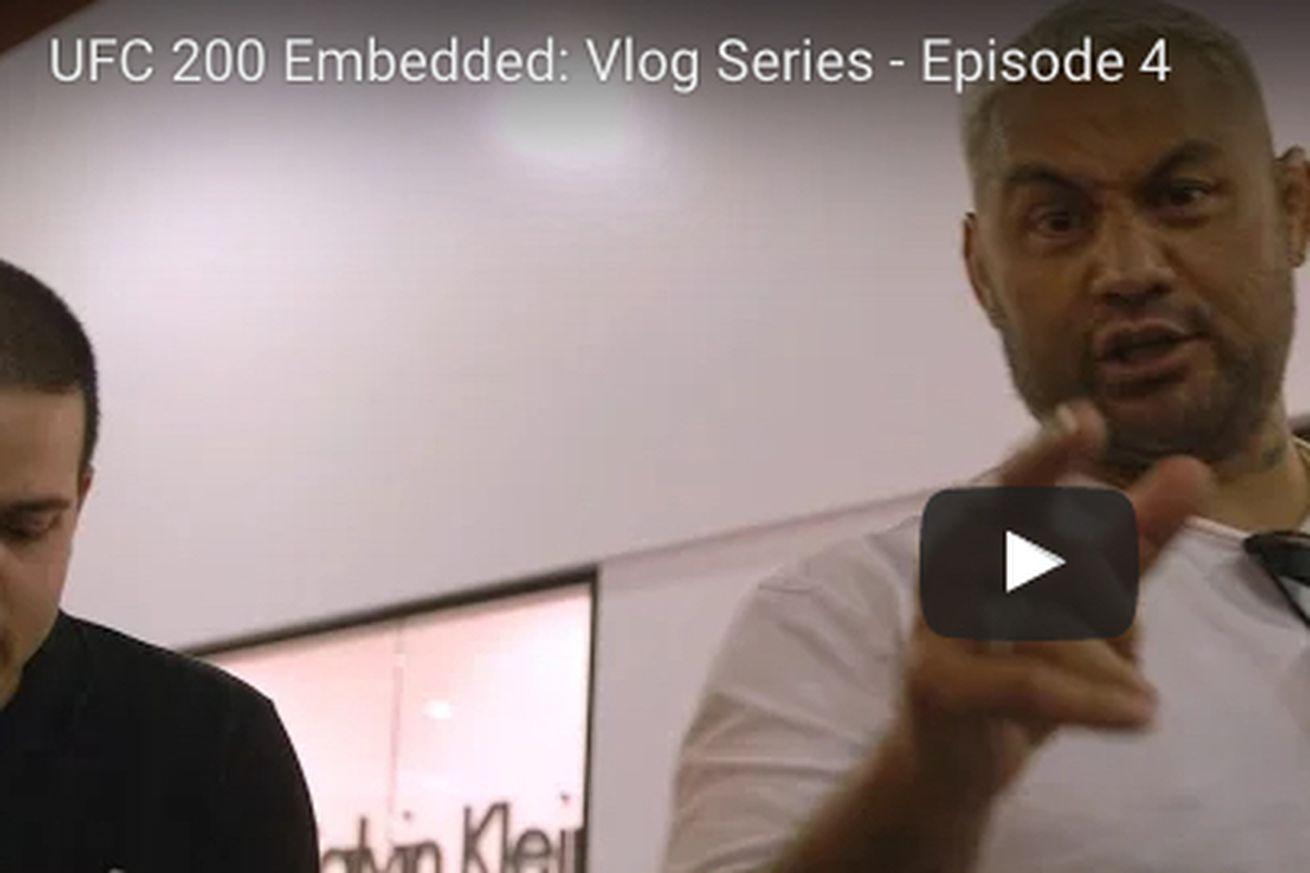 UFC 200 Embedded video, Ep. 4: Bullsh*t magic fails to impress Mark Hunt ahead of Brock Lesnar fight