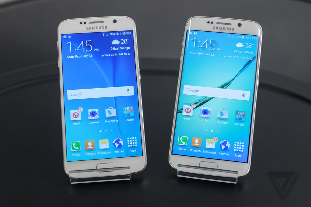 up close with samsung 39 s galaxy s6 and s6 edge the verge. Black Bedroom Furniture Sets. Home Design Ideas