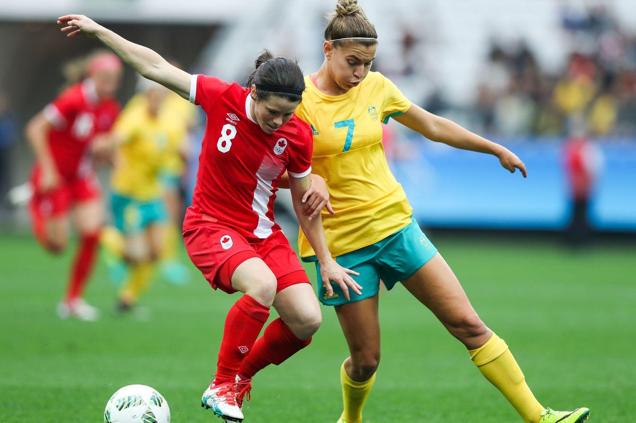 Janine Beckie scores twice, Canada beats Zimbabwe 3-1