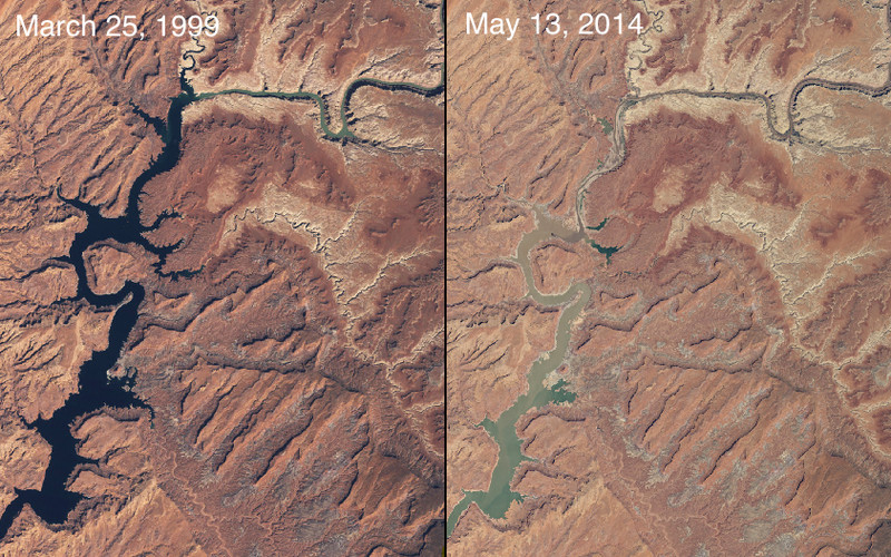 "(<a href=""http://climate.nasa.gov/state_of_flux#Lakepowell_930x544.jpg"">NASA, Images of Change</a>)"