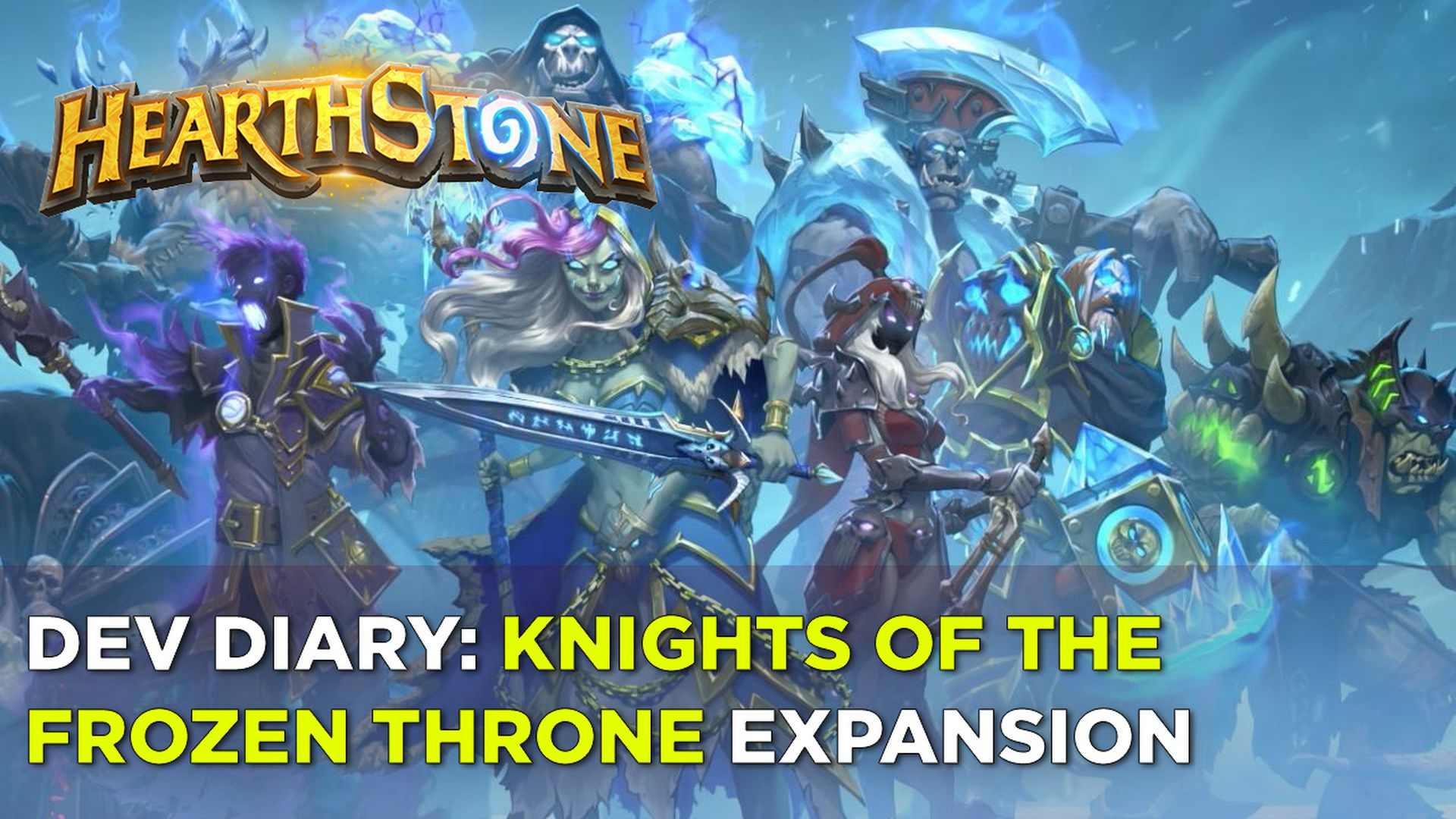 Hearthstone Knights Of The Frozen Throne Expansion Turns Heroes