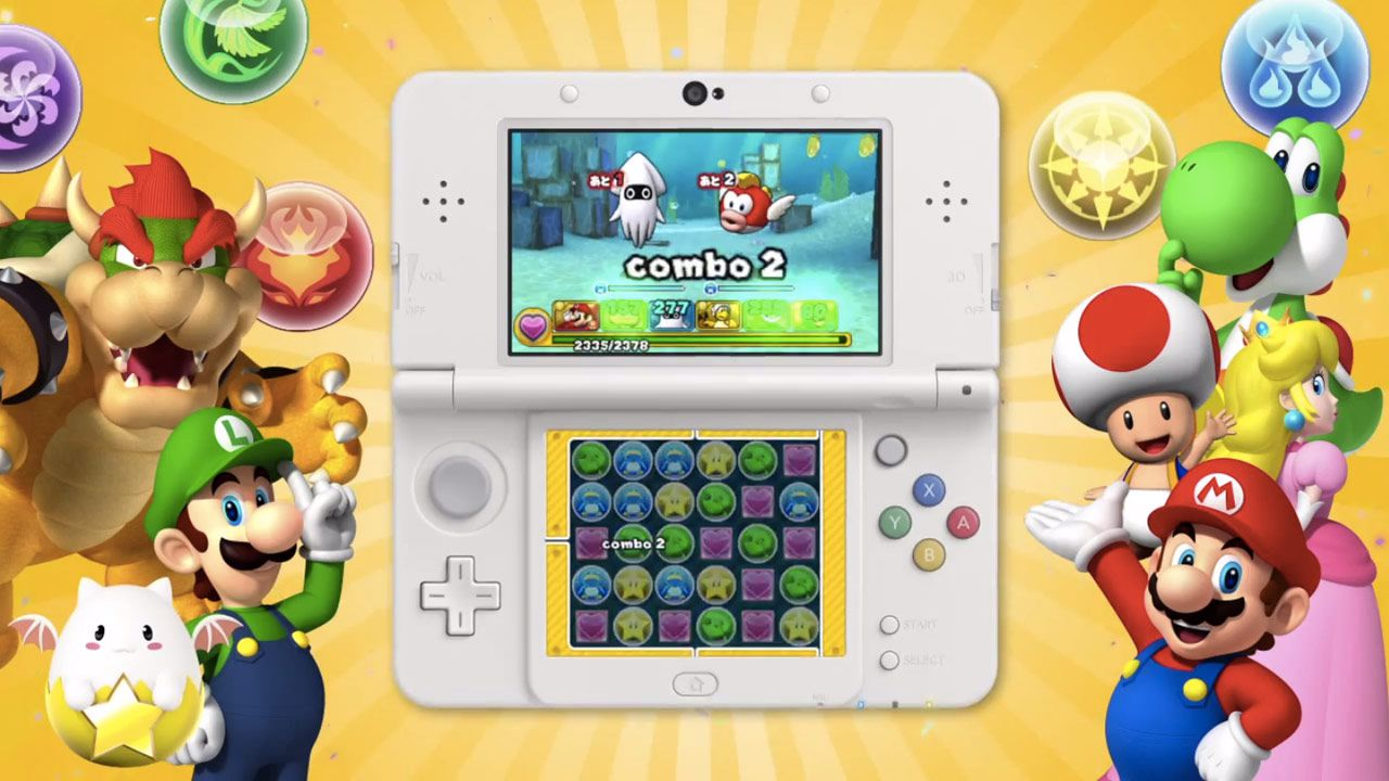 Gameplay of Puzzle & Dragons: Super Mario Edition