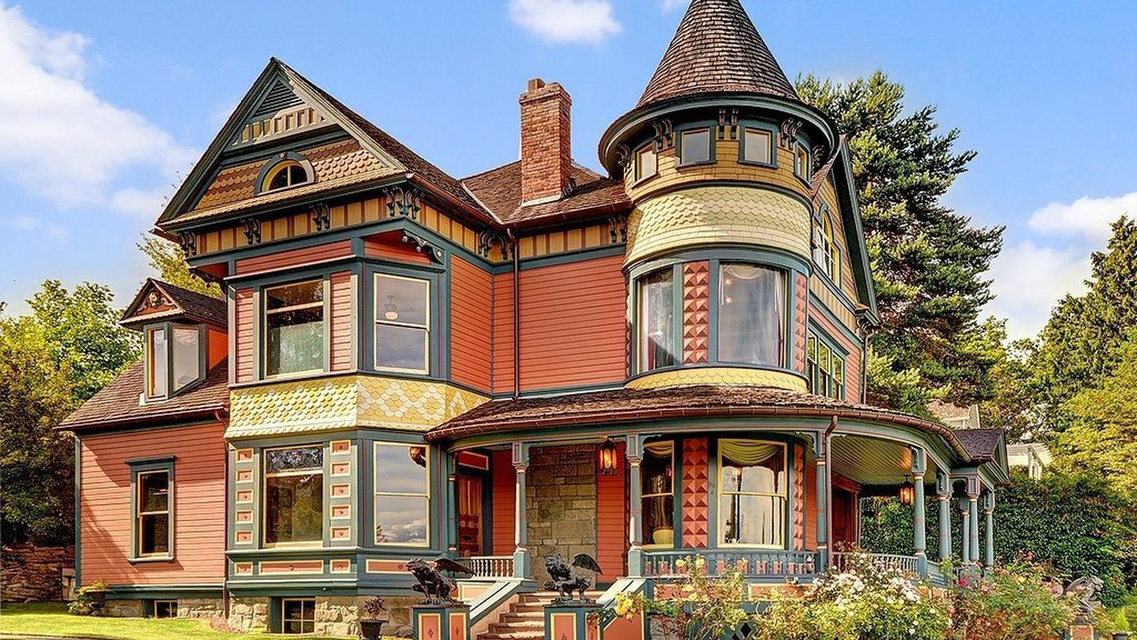 10 Historic Victorian Homes On The Market In Washington