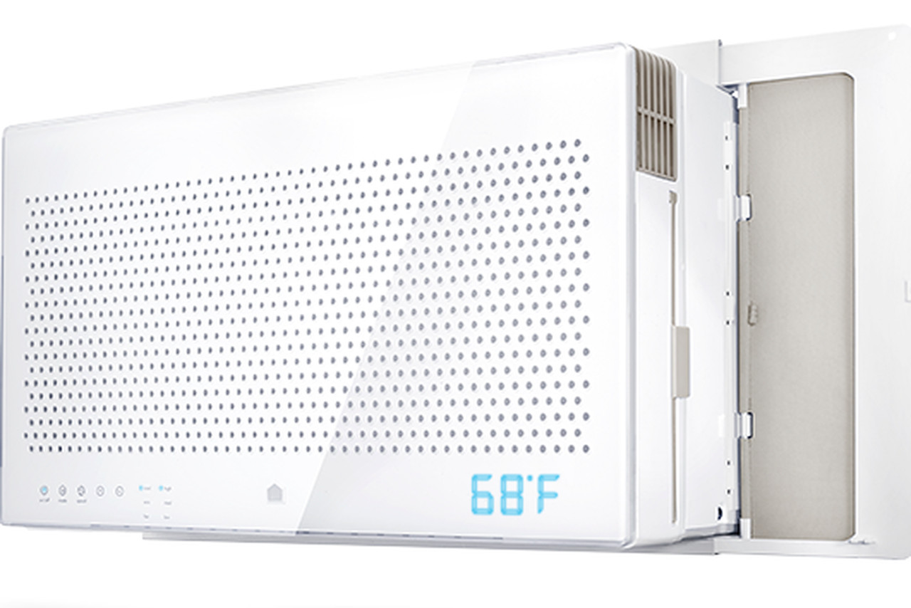 smart air conditioner that won't look ugly in your window The Verge #317A9A
