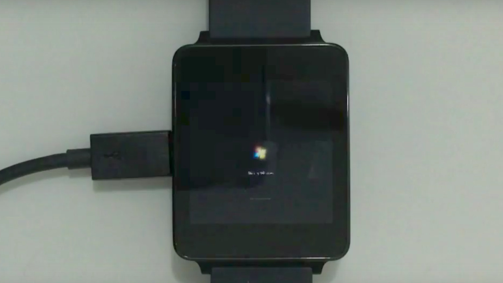 Watch Android Wear take three hours to boot Windows 7 | The Verge