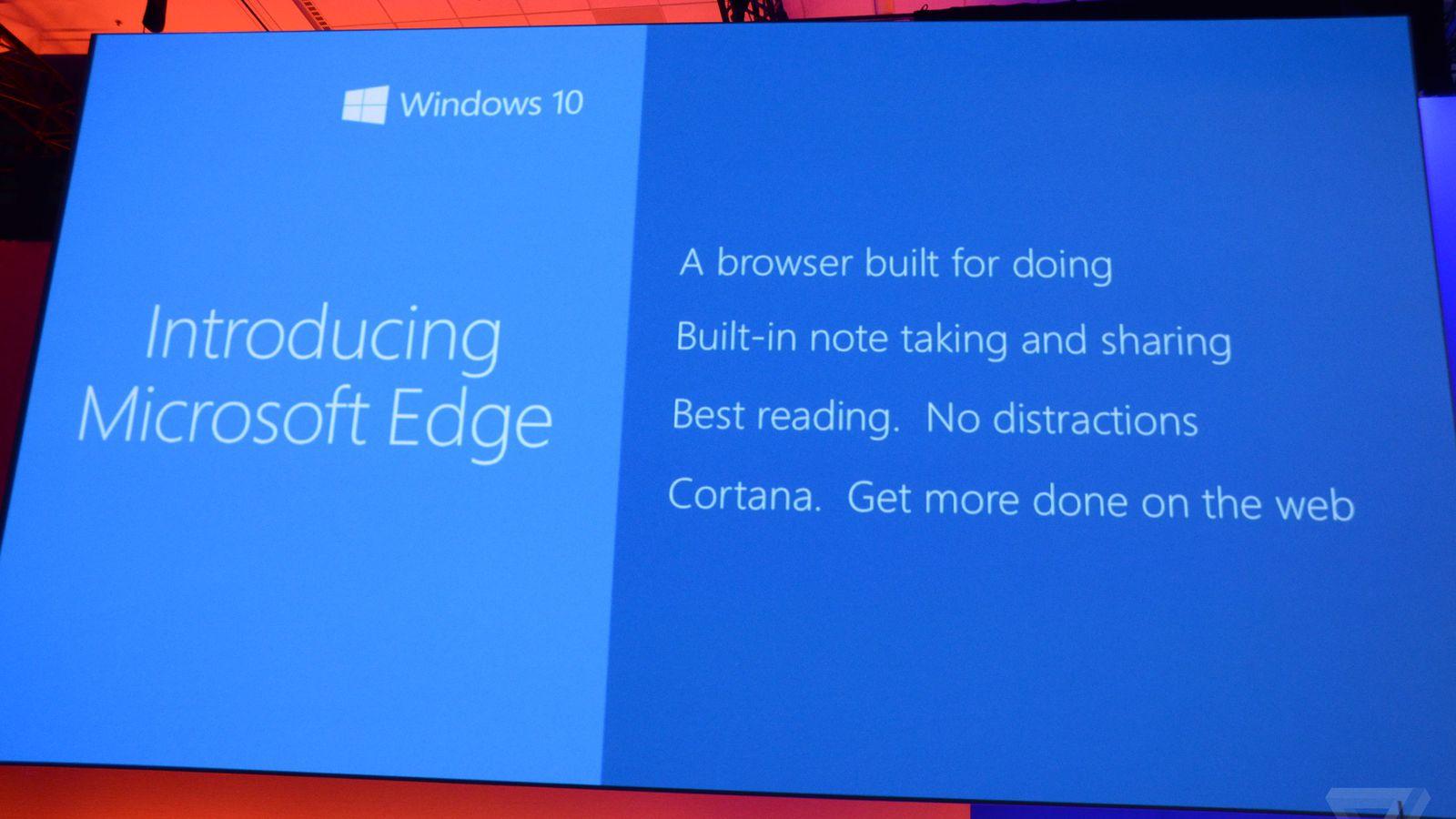 Project Spartan Browser itu Kini Bernama Microsoft Edge