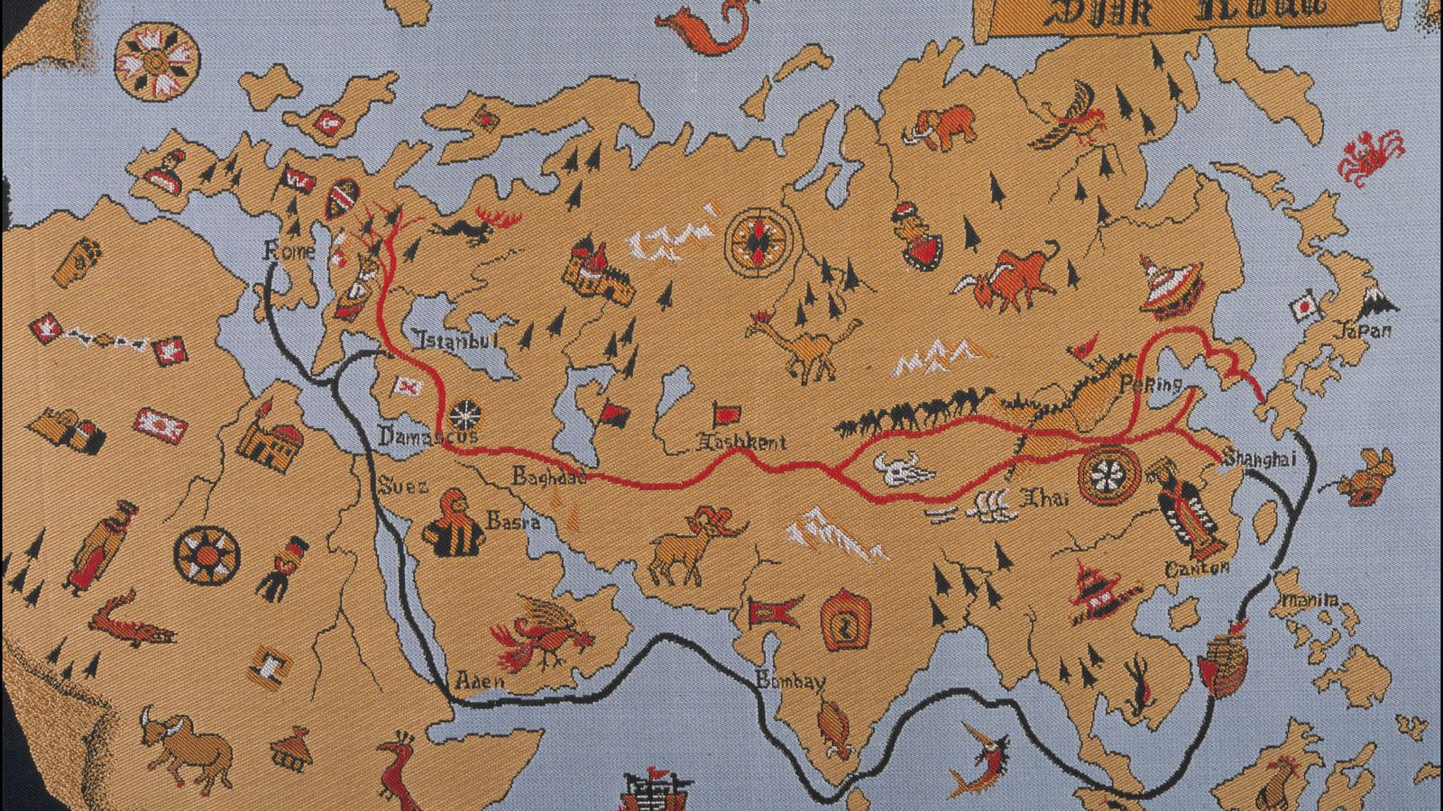silk road and shaharan trade routes A trade route is a logistical network identified as a series of pathways and  stoppages used for  the silk road was one of the first trade routes to join the  eastern and the western worlds  region find mention in the works of scholar  abū 'ubayd 'abd allāh al-bakrī the mainstay of the trans saharan trade was gold  and salt.