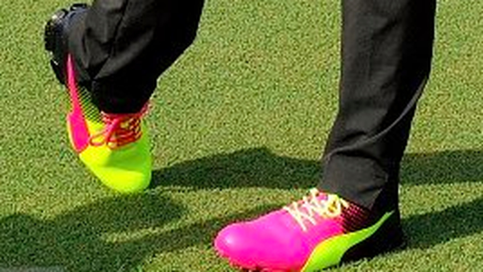 Rickie Fowler lights up The Players in mismatched neon shoes - SBNation.com