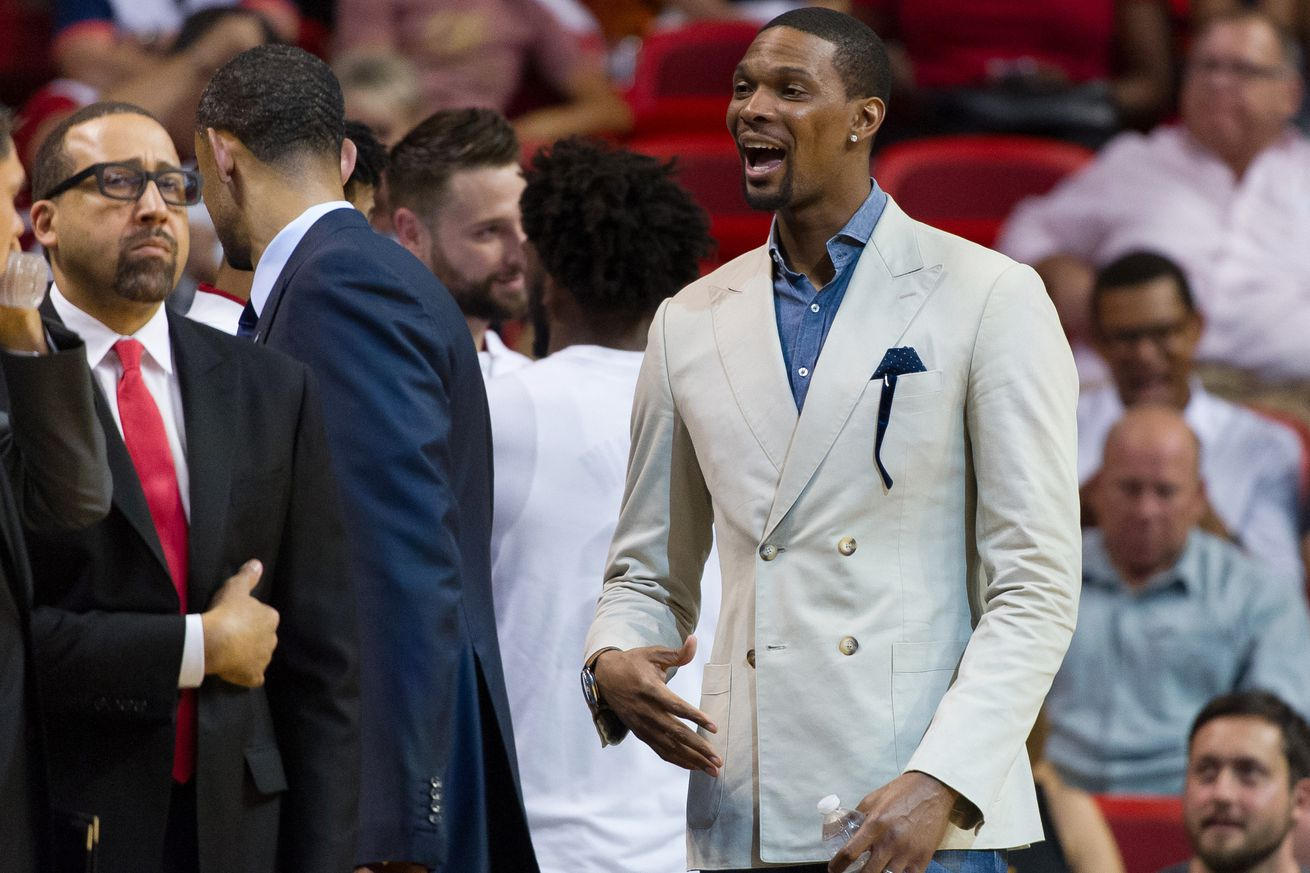Heat's Chris Bosh officially declared out for rest of playoffs
