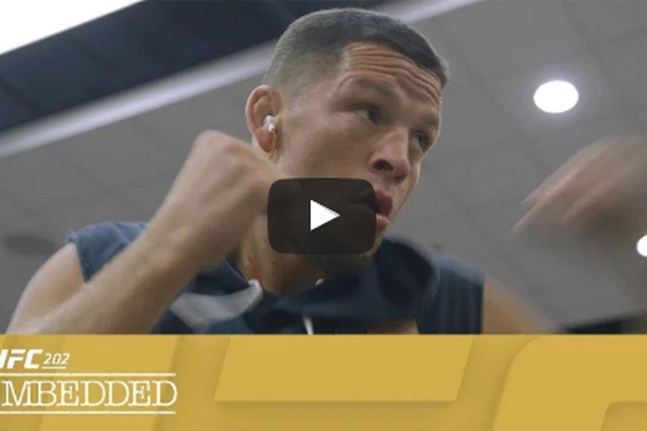UFC 202 Embedded video, Ep. 2: 'I feel like I have a rocket strapped to my ass'