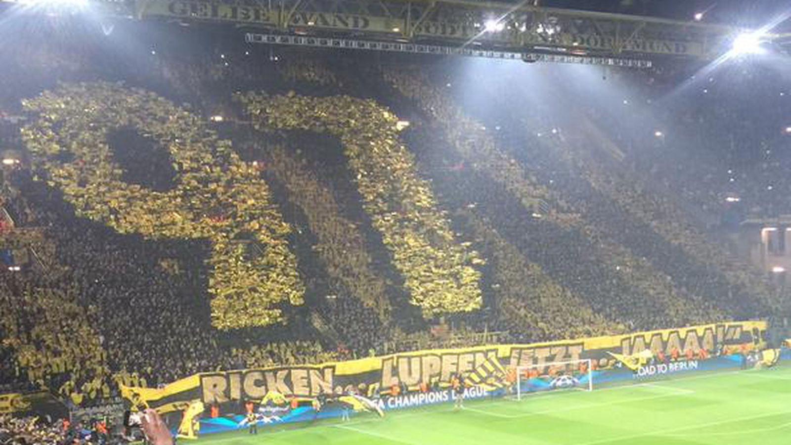 Dortmund Fans Youtube Dortmund Fans Impress With