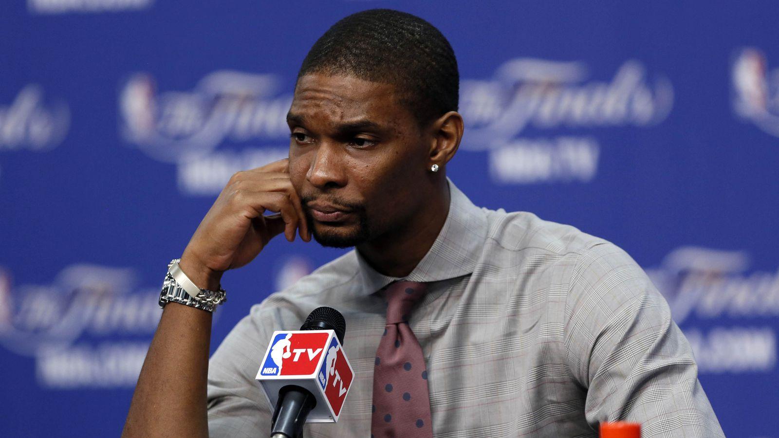 NBA Finals 2013: Chris Bosh tired of trade rumors, wants to retire in Miami - SBNation.com