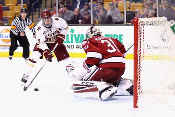 NCAA: BC 3, Harvard 2 - PP Goals Lift Eagles In Beanpot