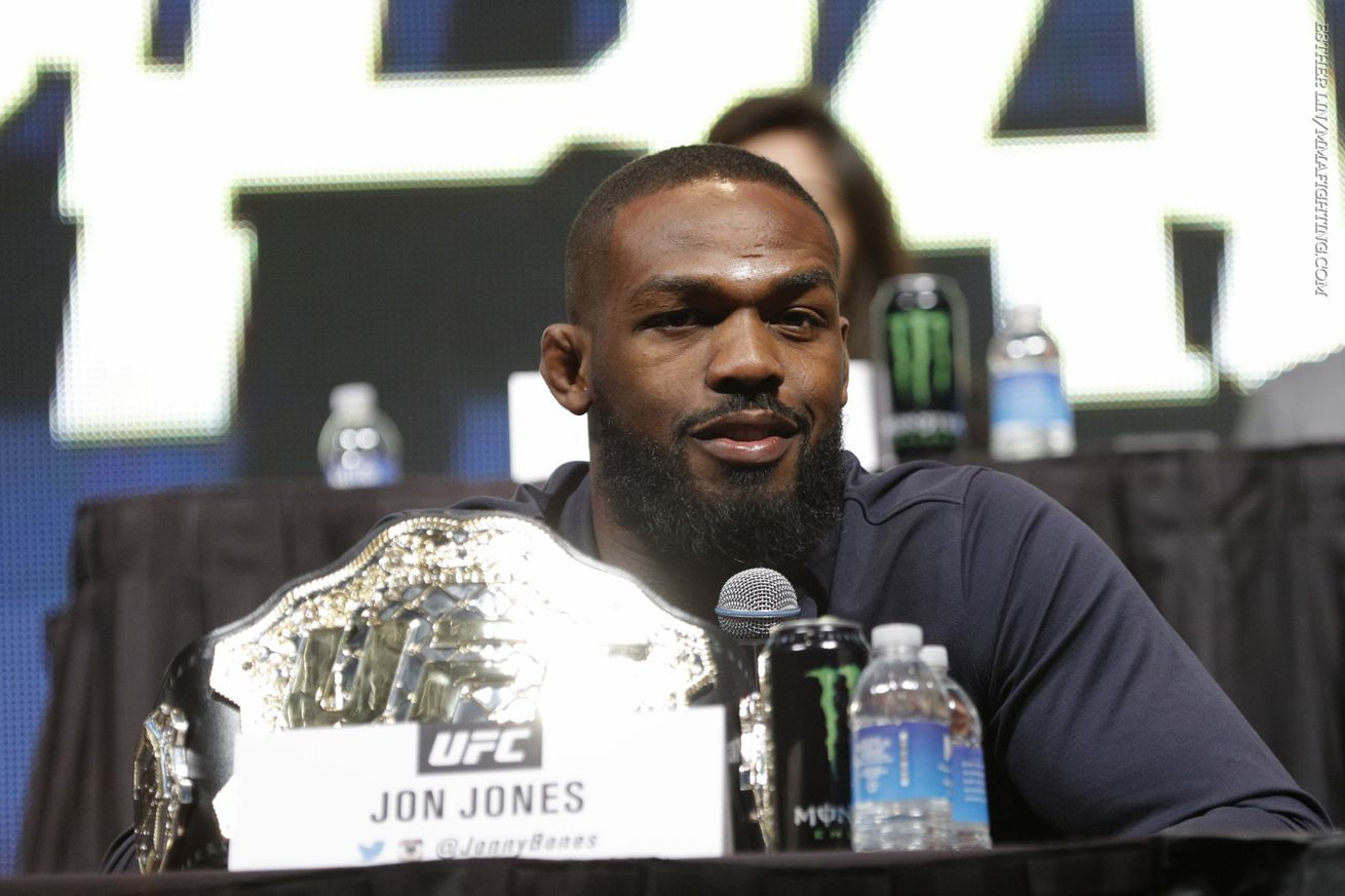 community news, Jon Jones: Daniel Cormier 'doesnt punch hard, doesnt have 'the stopping power to stop me