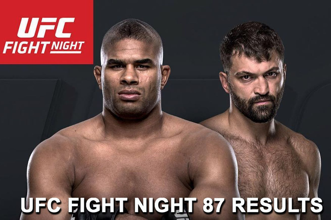 UFC Fight Night 87 live stream results: Overeem vs Arlovski play by play updates