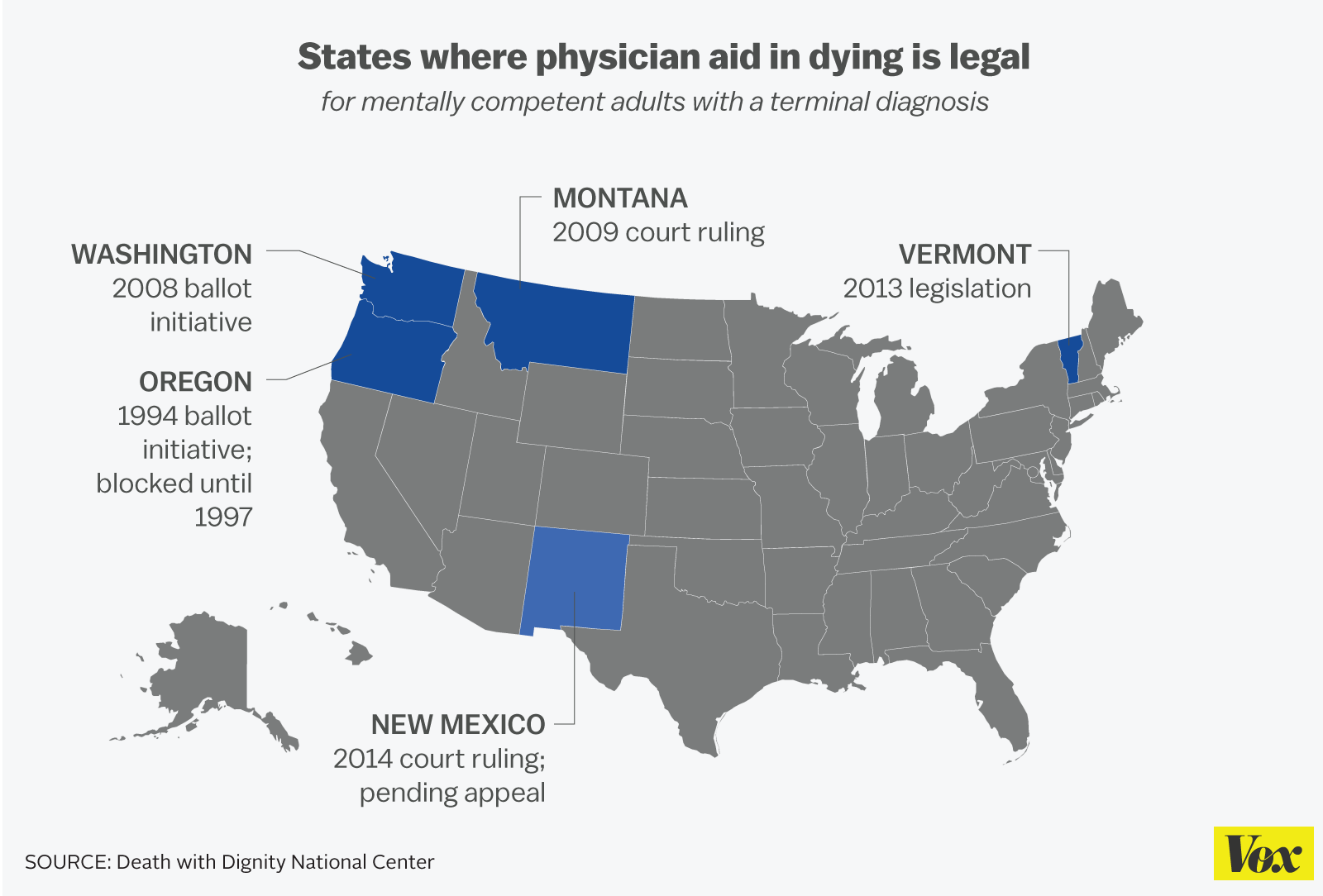 physician assisted suicide should be legalized in all fifty states of america More states may legalize physician-assisted suicide for how far will the right-to-die movement go more states may legalize found that roughly 50 residents.