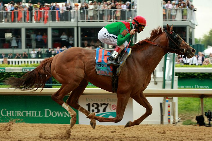 Kentucky Derby Historical Winners In January And Down