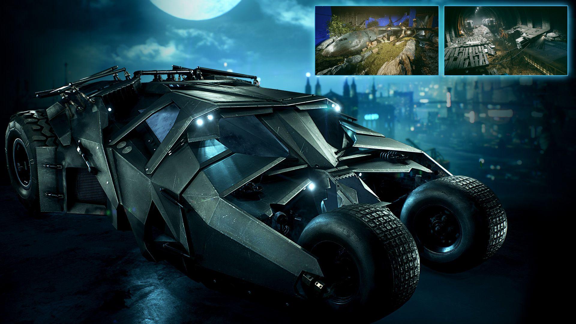 Batman: Arkham Knight gets Dark Knight's Tumbler next ...