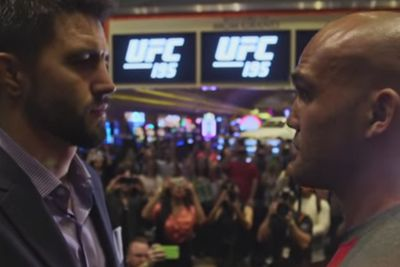 community news, Watch UFC 195 media day highlights, Robbie Lawler vs Carlos Condit staredown