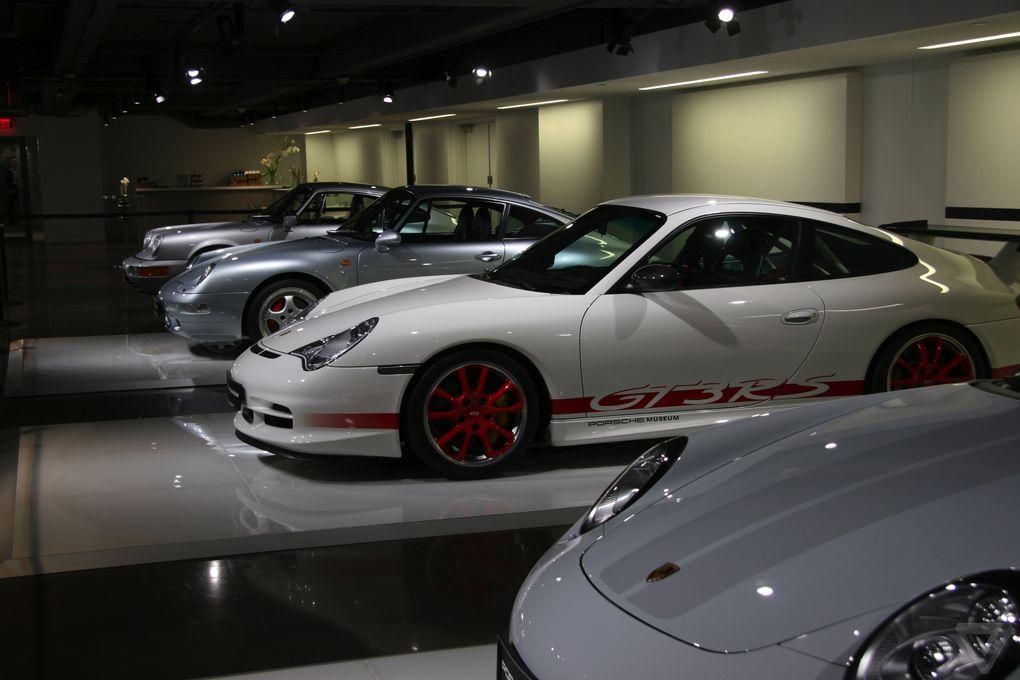 Lots of Porsche