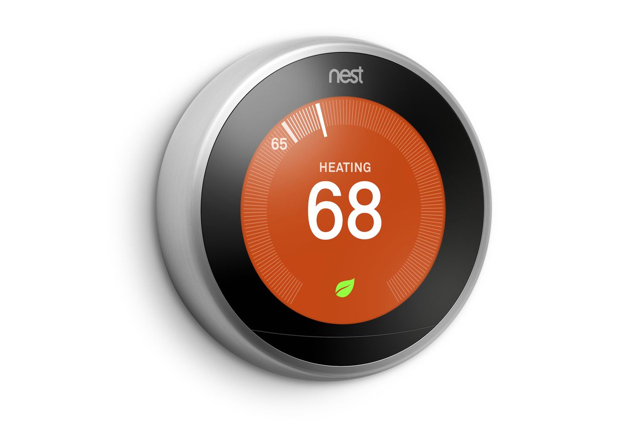 The latest nest thermostat is now available in europe the verge - Nest thermostat stylish home temperature control ...