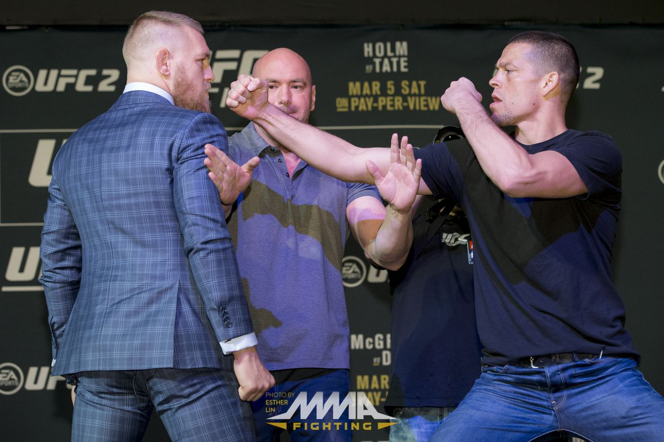 community news, Conor McGregor on hitting Nate Diaz at presser: His wrist will never be the same