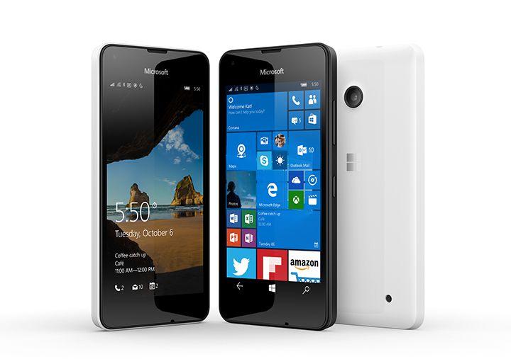 Microsoft Lumia 550 មានលក់នៅក្នុងសហរដ្ឋអាមេរិក និងប្រទេសមួយចំនួននៅអឺរ៉ុបហើយ