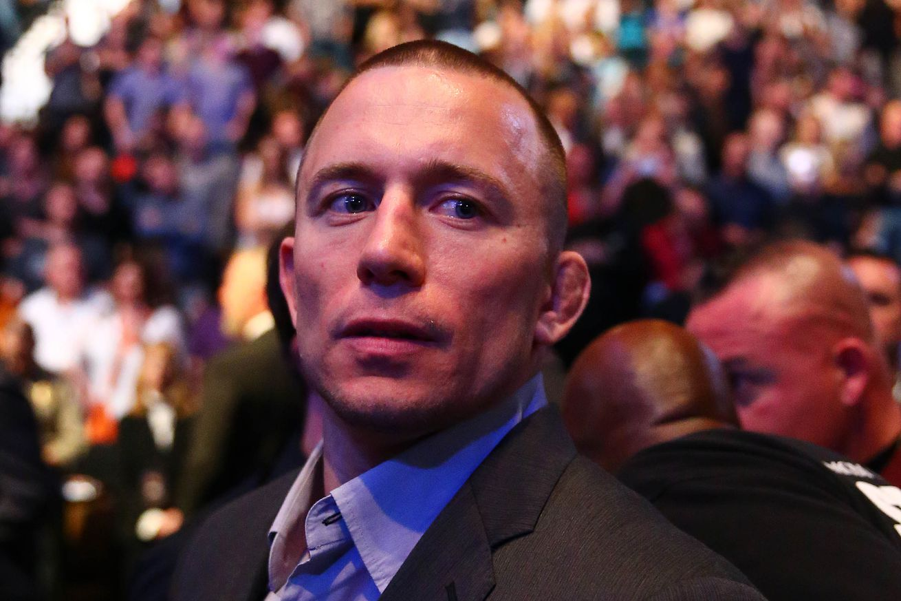 community news, Georges St Pierres UFC 196 attendance fuels comeback rumors, Dana White and GSP clear things up