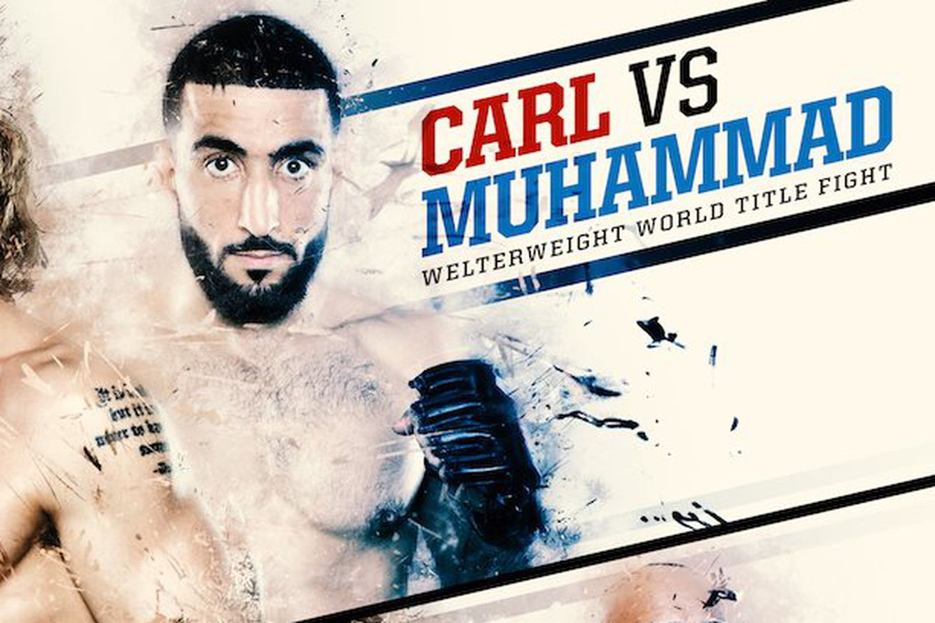 community news, Titan FC 38: Undefeated Belal Muhammad hopes to finish Steve Carl on Fight Pass this weekend